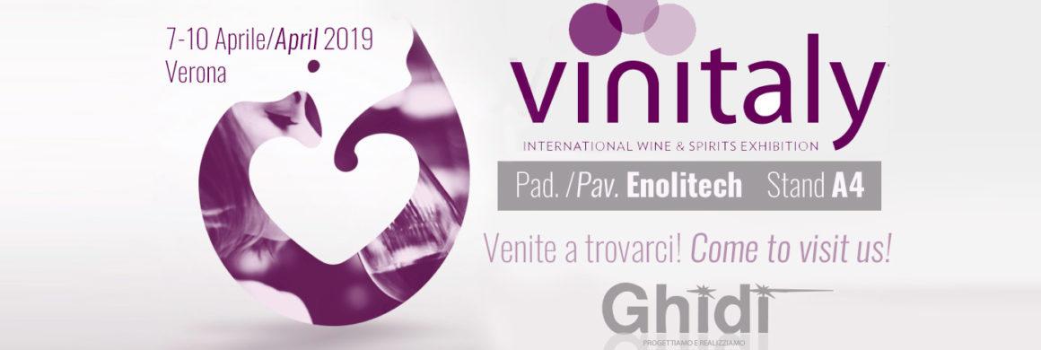 Ghidi Metalli Vinitaly 2019